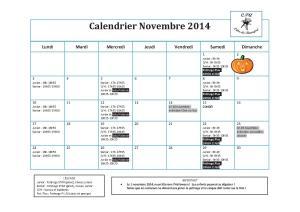 Calendrier 2014-11