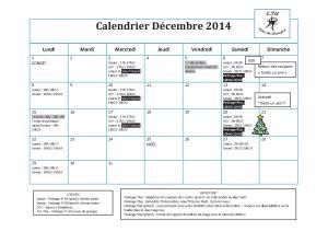 Calendrier 2014-12