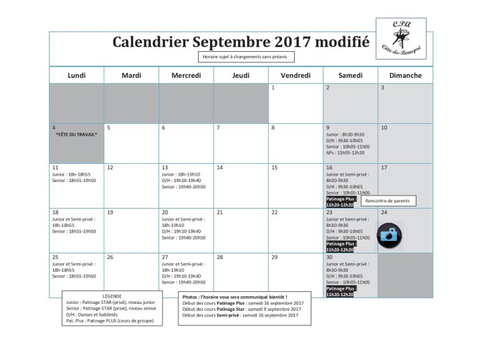 Calendrier 2017-09 modifié