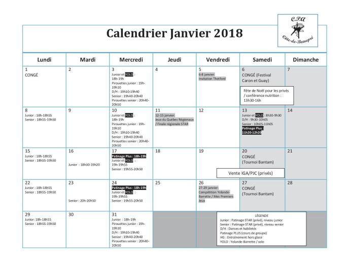 Calendrier 2018-01